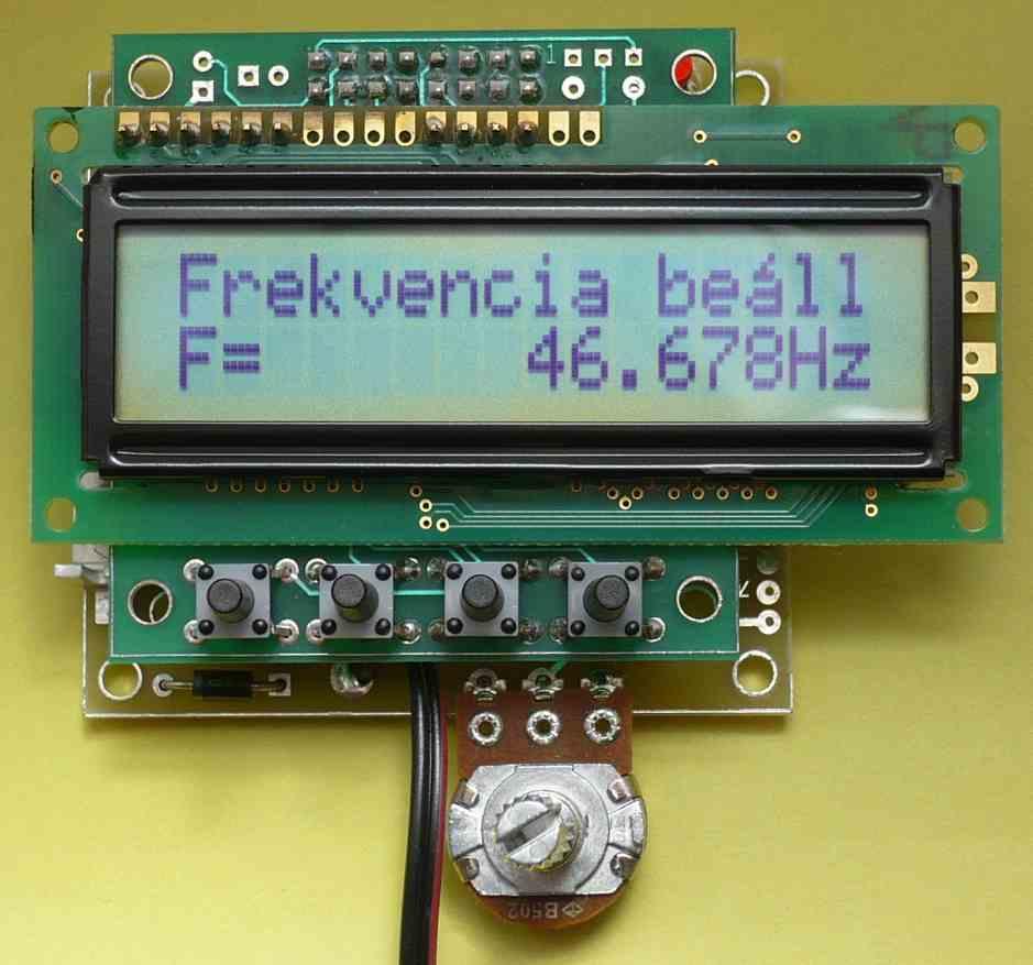 Frekvencia mérés